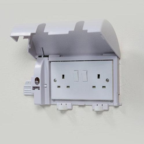 Socket Shield Twin Plug Socket cover