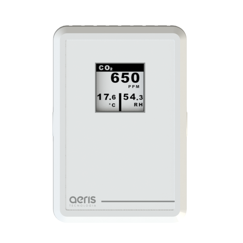 Transmissor CO2, qualidade do ar AERIS