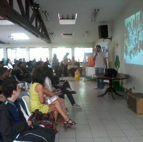 Palestra sobre Meio Ambiente