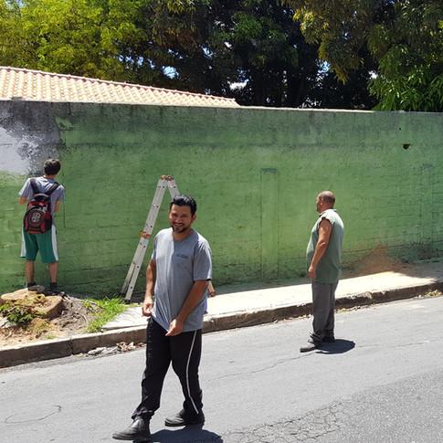 Revitalização da área externa com Vinícius Cesário