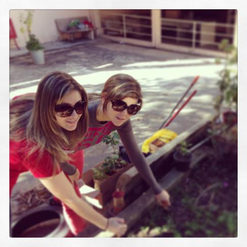 Revitalização da horta do Lar Dona Paula