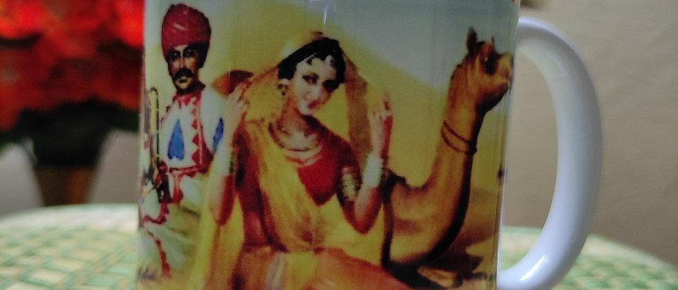 Jaipuri Painting Mug