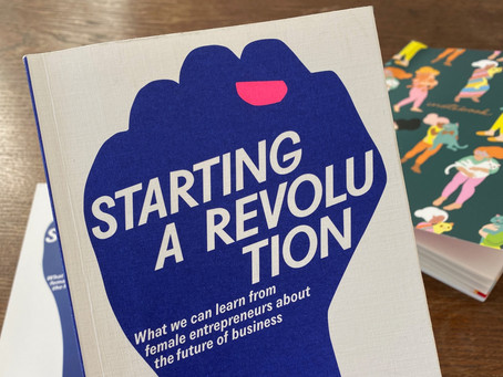 Feminist Business Book: Starting a Revolution by Naomi Ryland and Lisa Jaspers