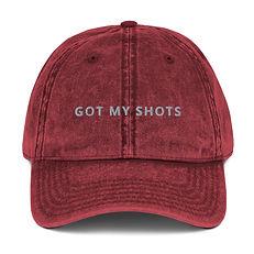 Got My Shots Ball Cap