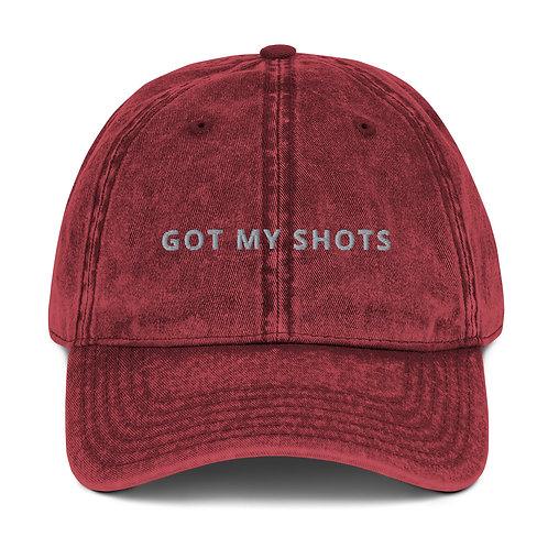 GOT MY SHOTS