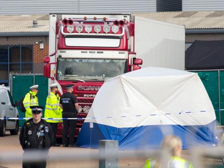 39 Bodies Found In Truck In Essex, United Kingdom