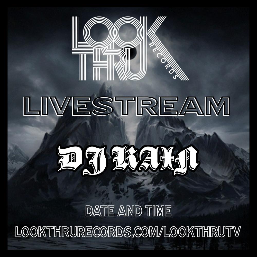 DJ KAIN Live Stream Flier