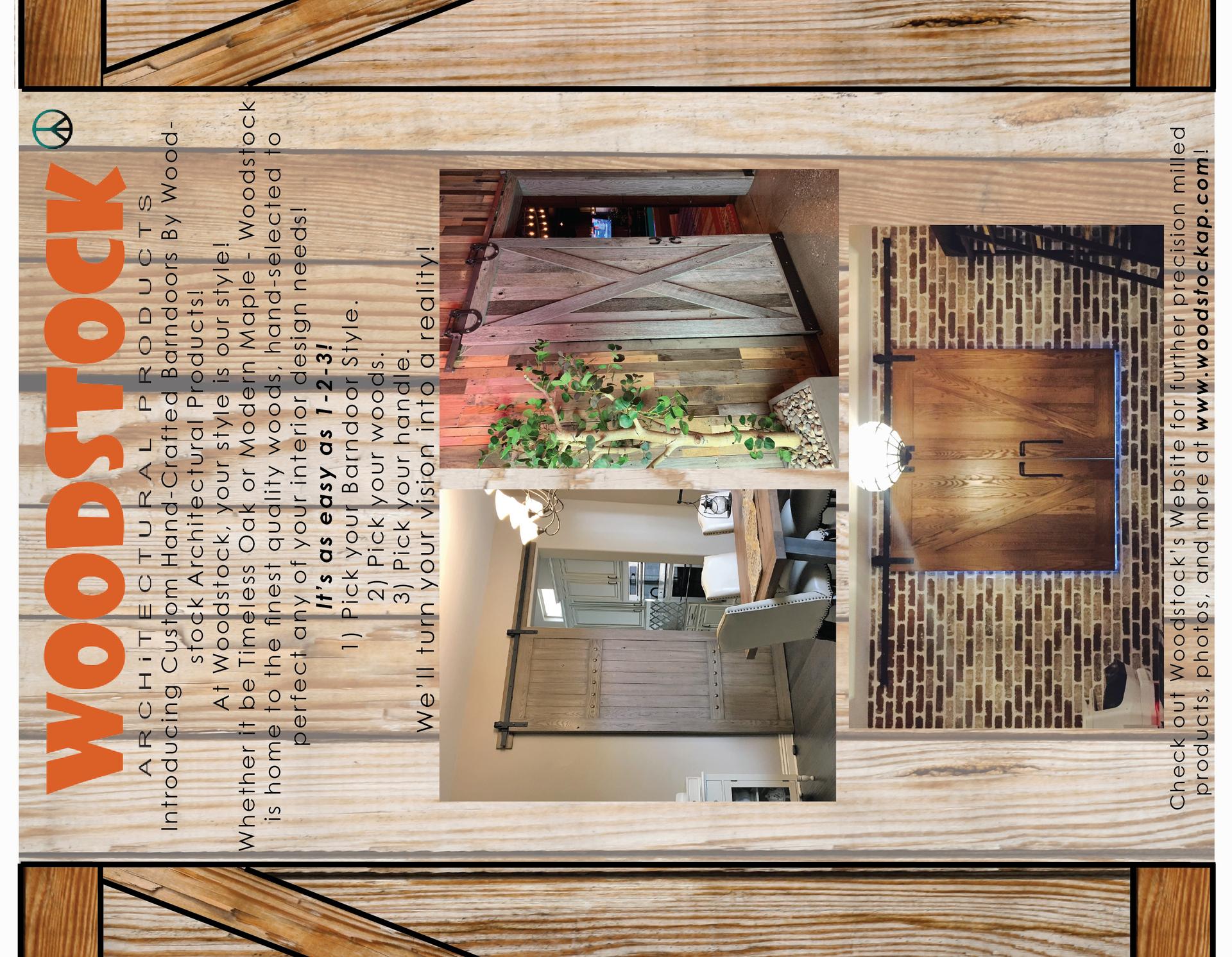 woodstock brochure outside