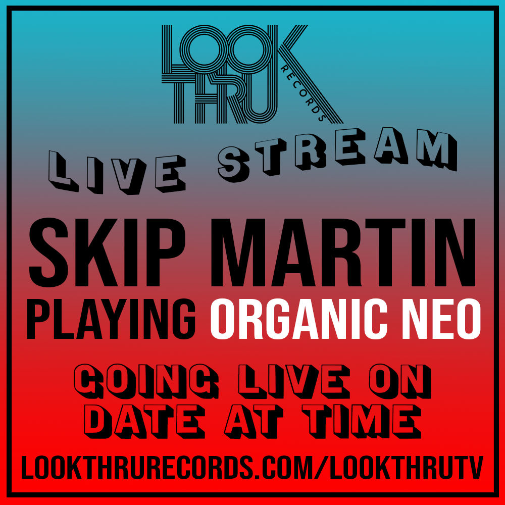 SKIP MARTIN Live Stream Flier