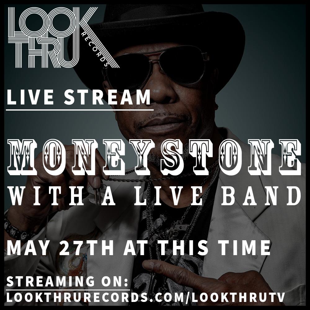 MONEYSTONE Live Stream Flier