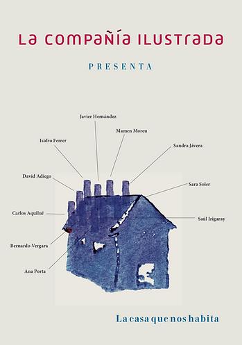 Cartel Compañía Ilustrada