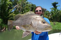 Spottail Bass & Black Bass Fishing