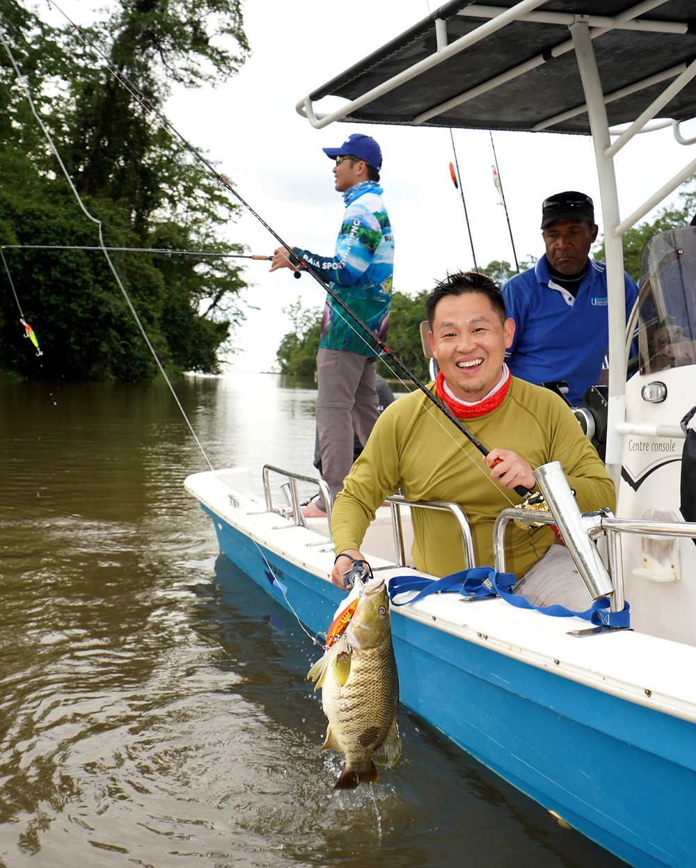 Spottail Bass - Baia Sportfishing