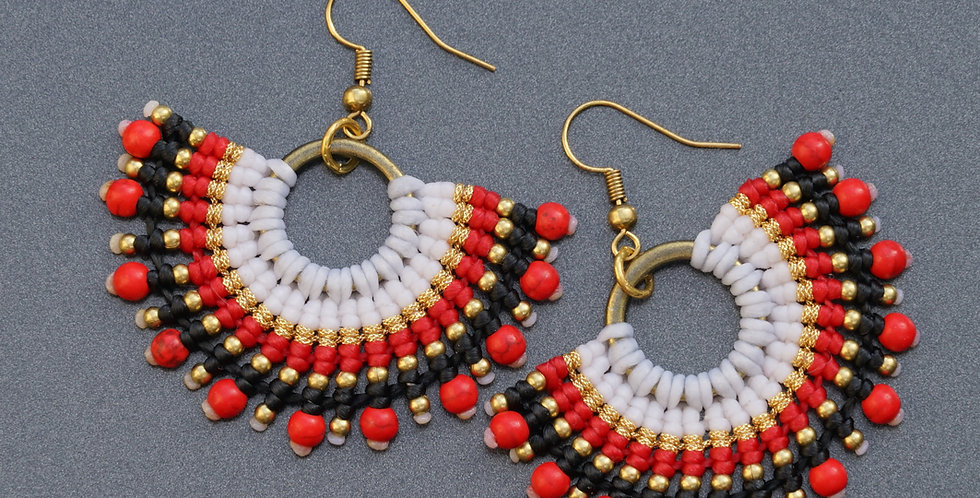 PNG Colour Earrings Zambilla & Co