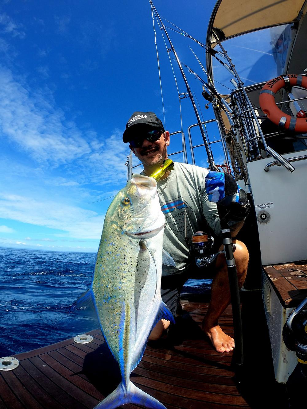 Bluefin Trevalley on Ultimate One - Baia Sportfishing