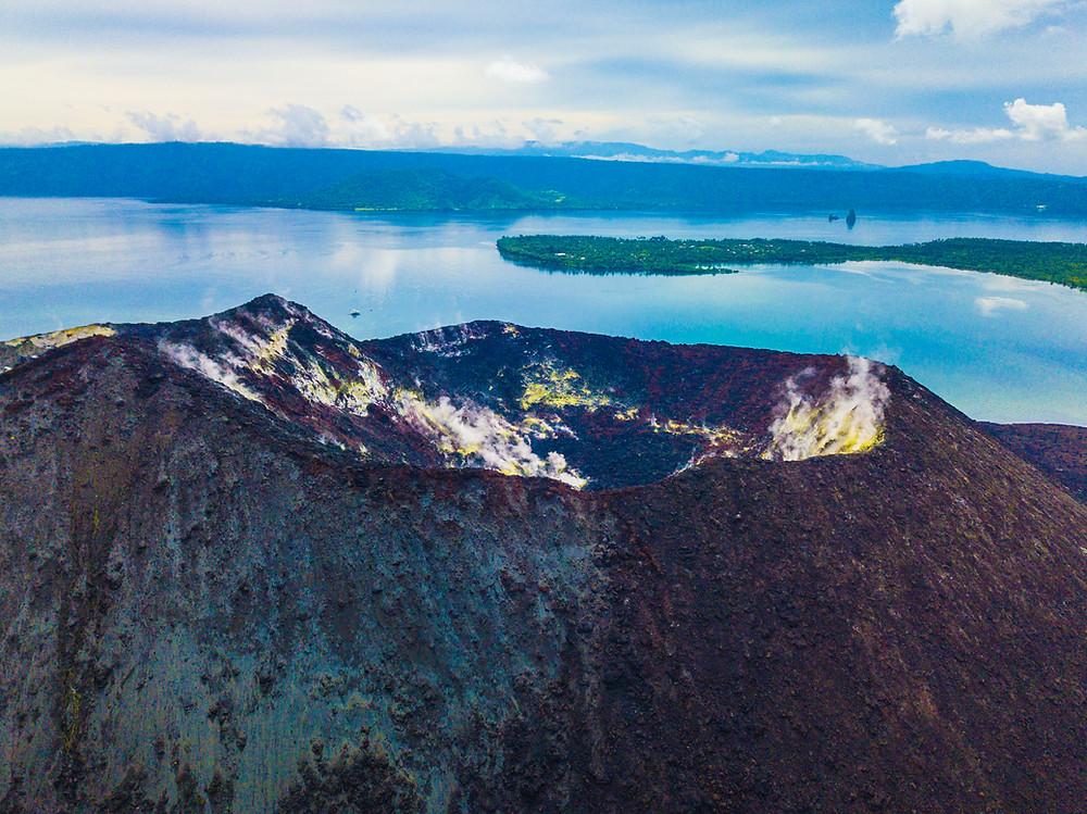 Mt Tavurvur Volcano - Baia Sportfishing PNG