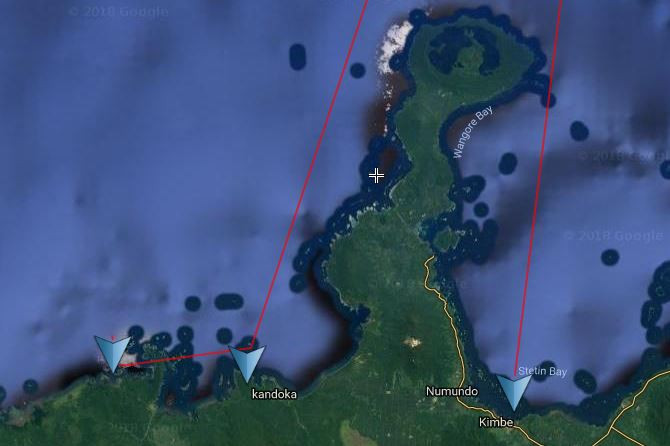 Ultimate One Route - Baia Sportfishing PNG