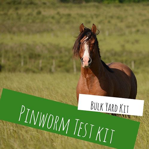 Bulk Yard Pinworm Test Kit For 10+ Horses