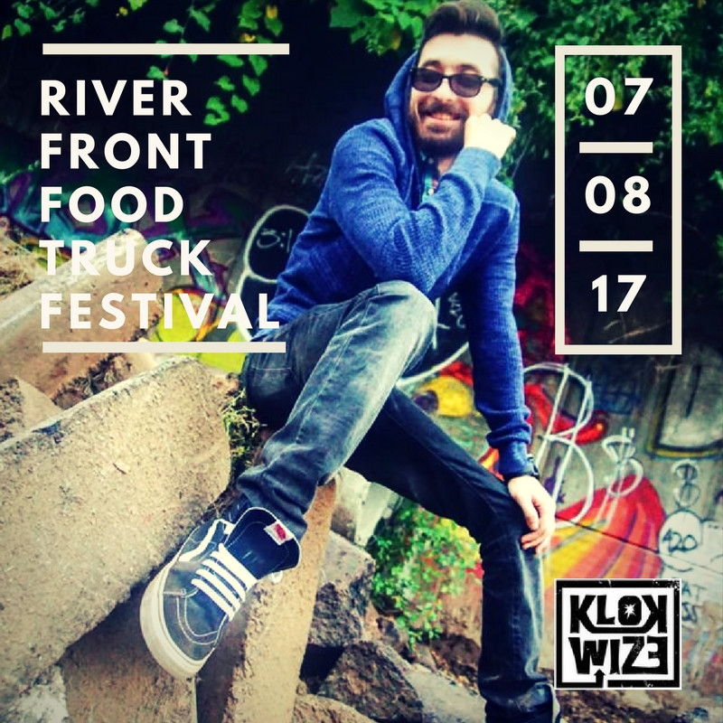 KlokWize is Performing at the Riverfront Food Truck Festival 7/8/17