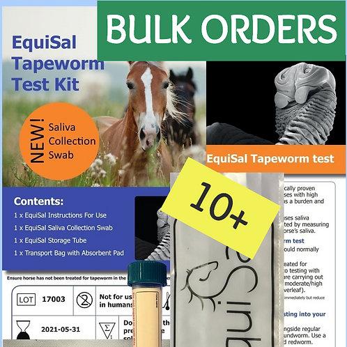 Bulk Kit Orders: Equisal Tapeworm test kit