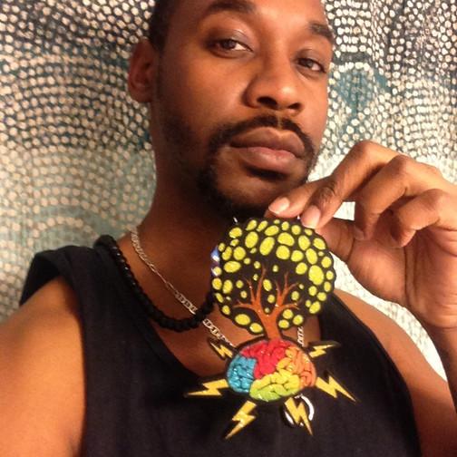 DJ Me Bruh & His Custom Pendant