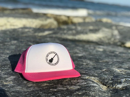 TPD/BOSTON GUITAR FOAM TRUCKER HAT PINK