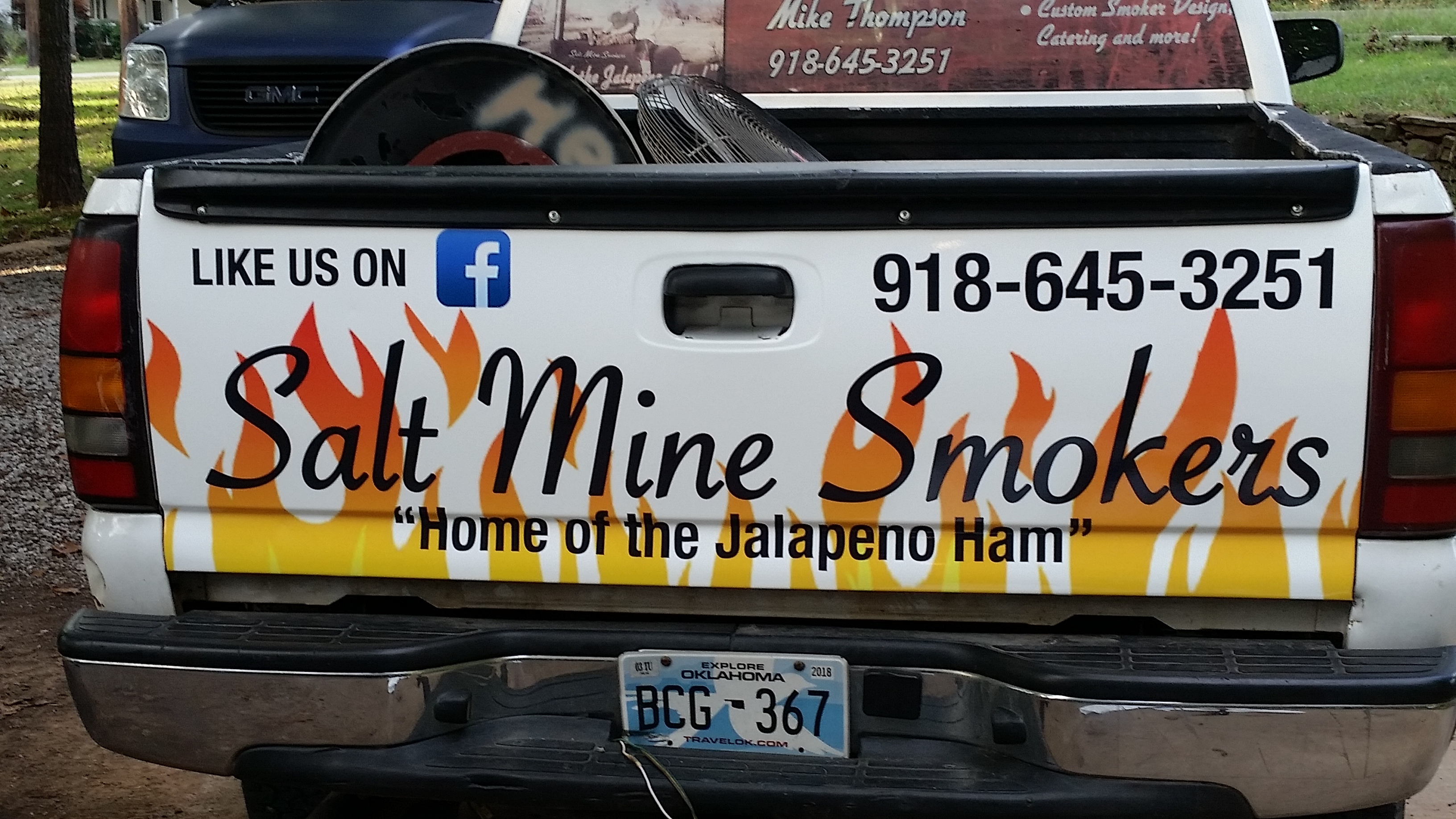 Salt Mine - Truck Graphics