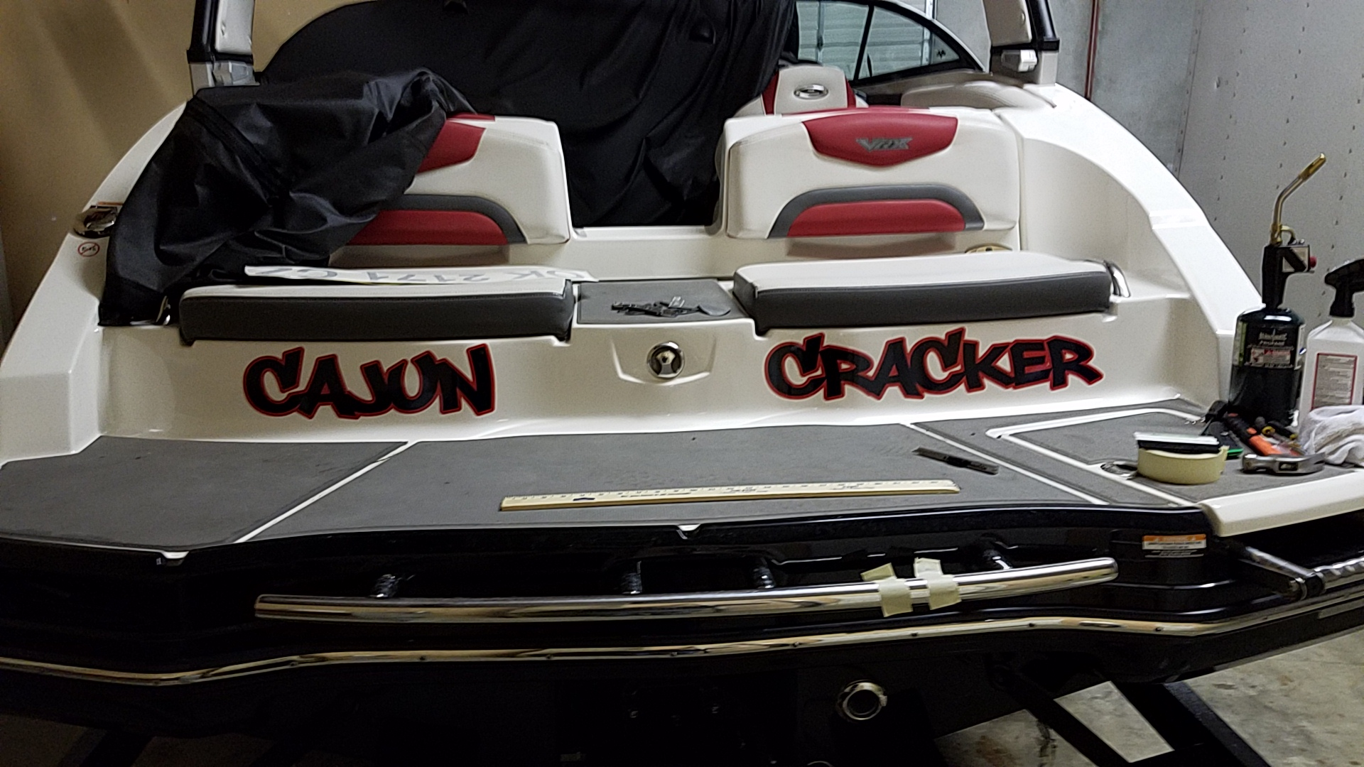 Cajun Cracker - Custom Boat Decal