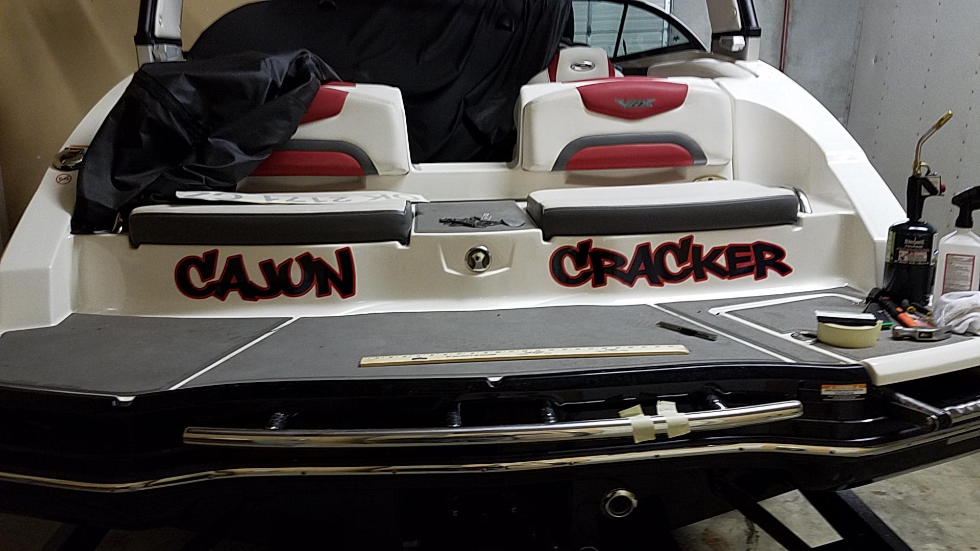 Cajun Cracker - Custom Boat Decal