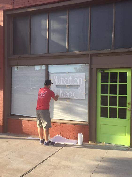 Storefront Window Vinyl Installation