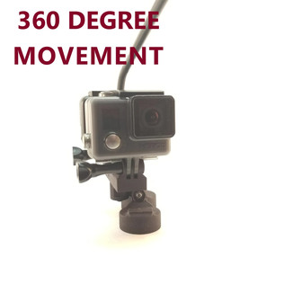 Unrestricted 360 degree rotation.