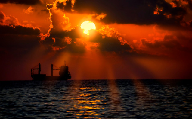 Sunset over hope
