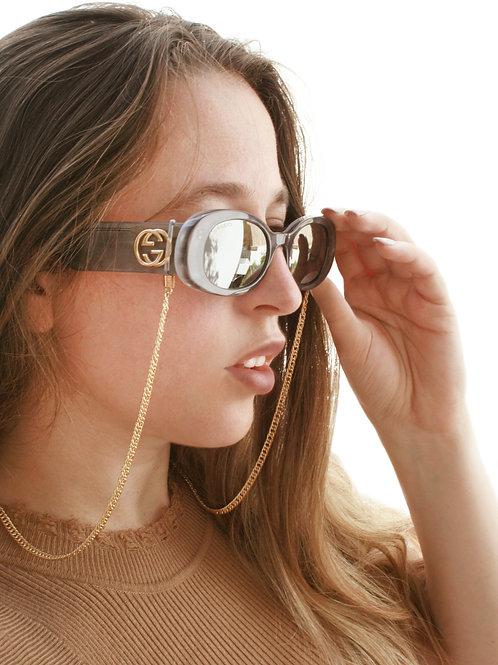 שרשרת משקפיים ארכנה ציפוי זהב