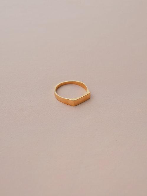 טבעת אפיפדו ציפוי זהב מיקרון