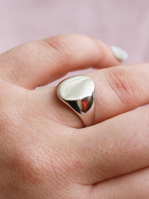 טבעת סטדיון כסף סטרלינג 925