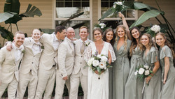 edited bridal party