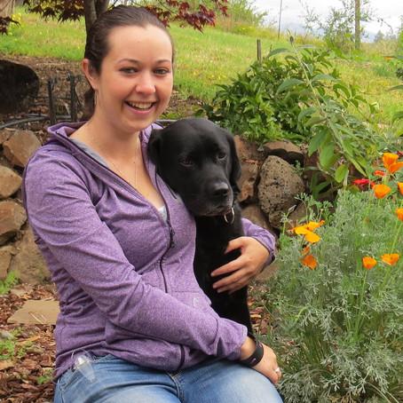 Diabetic alert dog impresses doctor and staff, Emma & Fleur