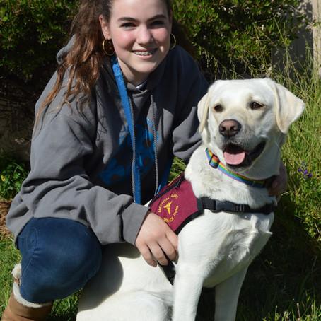 How her diabetes alert dog helped her overcome diabetes burnout, Mabel & Tokyo