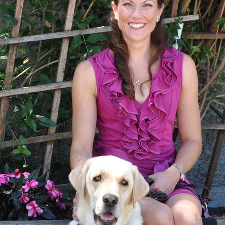 No more missed lows thanks to diabetes alert dog, Stephanie & Ozark