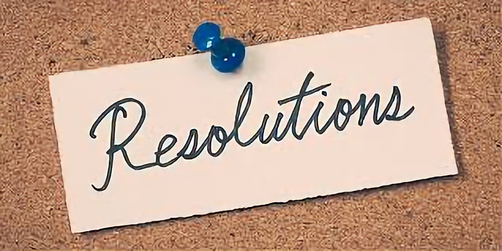 Resolution Bingo