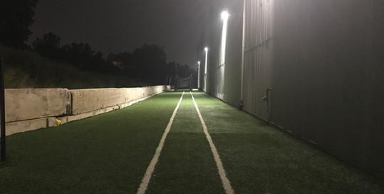 Turf Track at Night