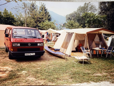 1989 - Analogue picture from the pre VW California era.