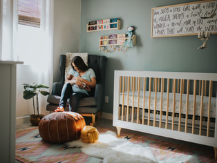 S E R I E S : corners of our home i'll miss the most - ava's nursery