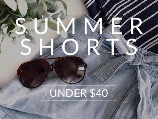 summer shorts under $40