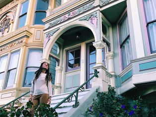 'the haight' where the hippies meet the panhandle