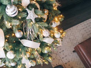 sharing how we decked the halls for the holidays
