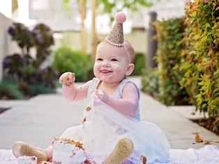 ava's ice cream social - first birthday party!