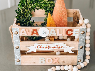 christmas eve box diy (part I)