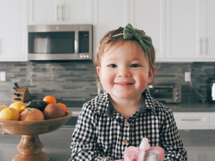 our healthy go-to toddler snacks