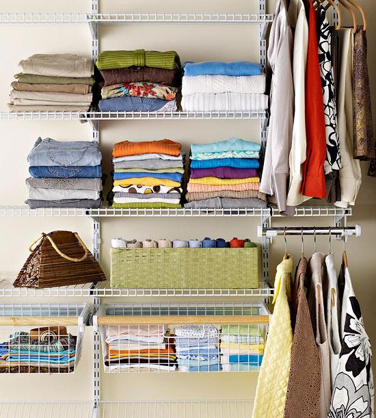 Closet organization - MOTS